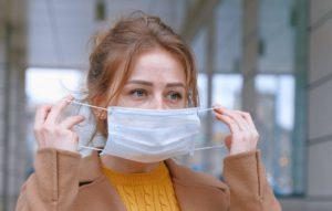 Istruzione operativa per il corretto uso della mascherina